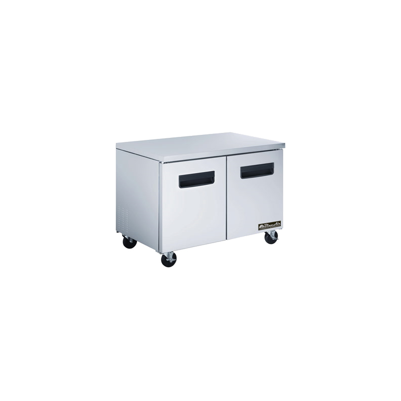 Undercounter Reach-In Refrigerator - two-section