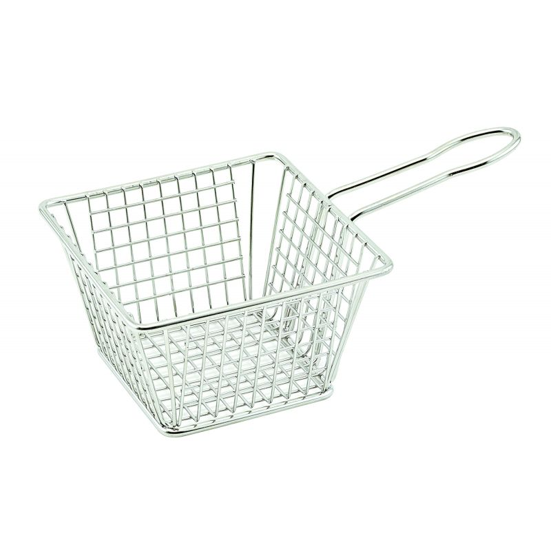 Mini Fry Basket - Square,5 inchesx5 inchesx4 inches