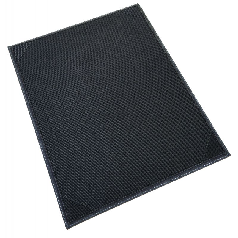 Single View Menu Cover For 8-1/2 X 14 inches Inserts, Black