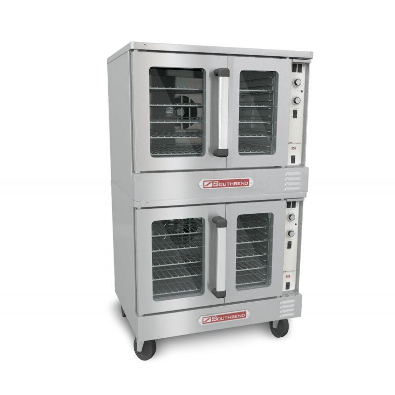 Bronze Convection Gas Oven - Double Deck
