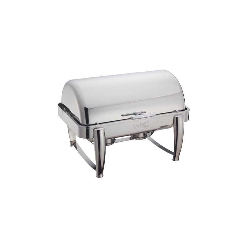 Virtuoso 8qt Full-size Chafer, Roll-top, S/S, Extra Heavyweight