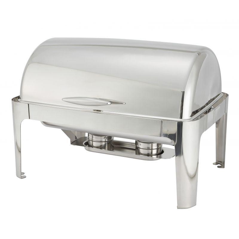 Madison 8qt Full-size Chafer, Roll-top, S/S, Heavyweight