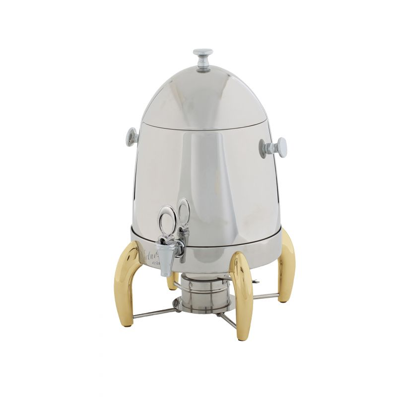Virtuoso Coffee Urn, 3gal, Gold Accent