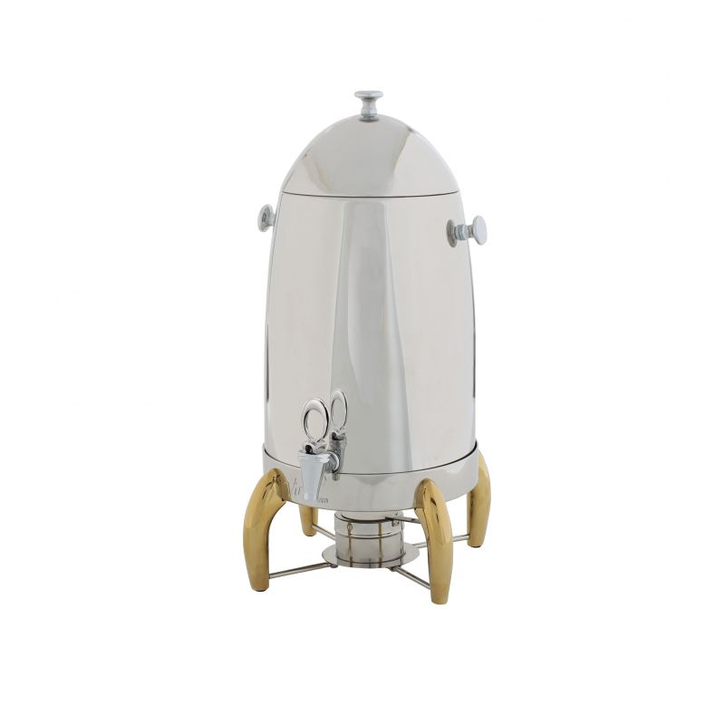 Virtuoso Coffee Urn, 5gal, Gold Accent