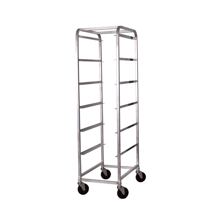 Bus Box Cart, 6 Tiers, Alu