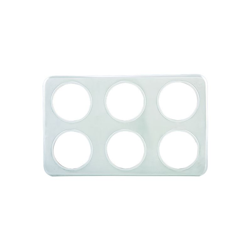 Adaptor Plate, Six 4-3/4 inches Holes, S/S