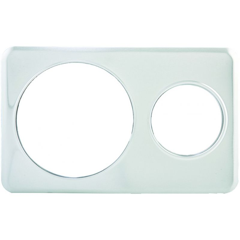 Adaptor Plate, 6-3/8 inches & 10-3/8 inches Holes, S/S