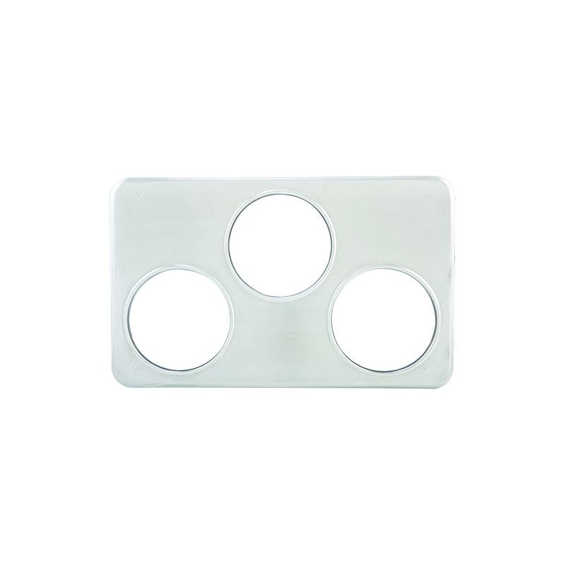 Adaptor Plate, Three 6-3/8 inches Holes, S/S