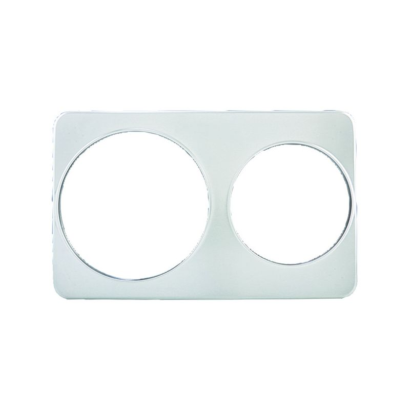 Adaptor Plate, 8-3/8 inches & 10-3/8 inches Holes, S/S