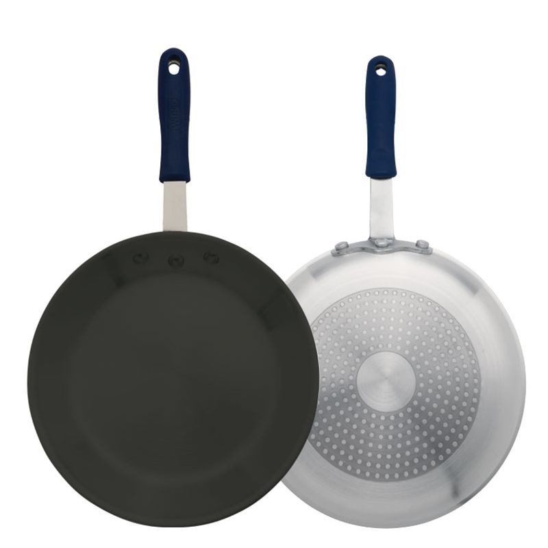 10 inches Induction Ready Alu Fry Pan, w/ S/S Bottom, w/Sleeve, Non-stick