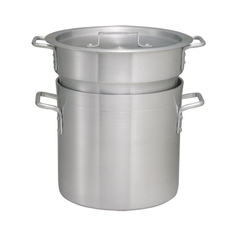8qt Alu Double Boiler w/Cover