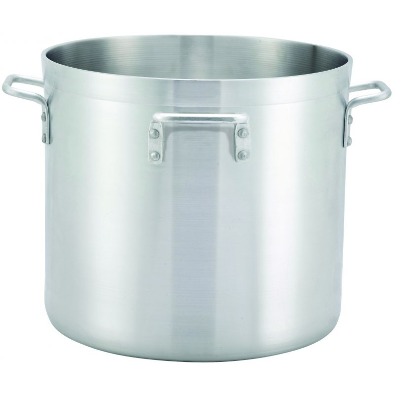40qt Alu Stock Pot, 6mm, Precision