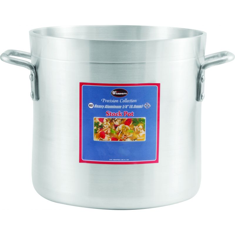 12qt Alu Stock Pot, 6mm, Precision