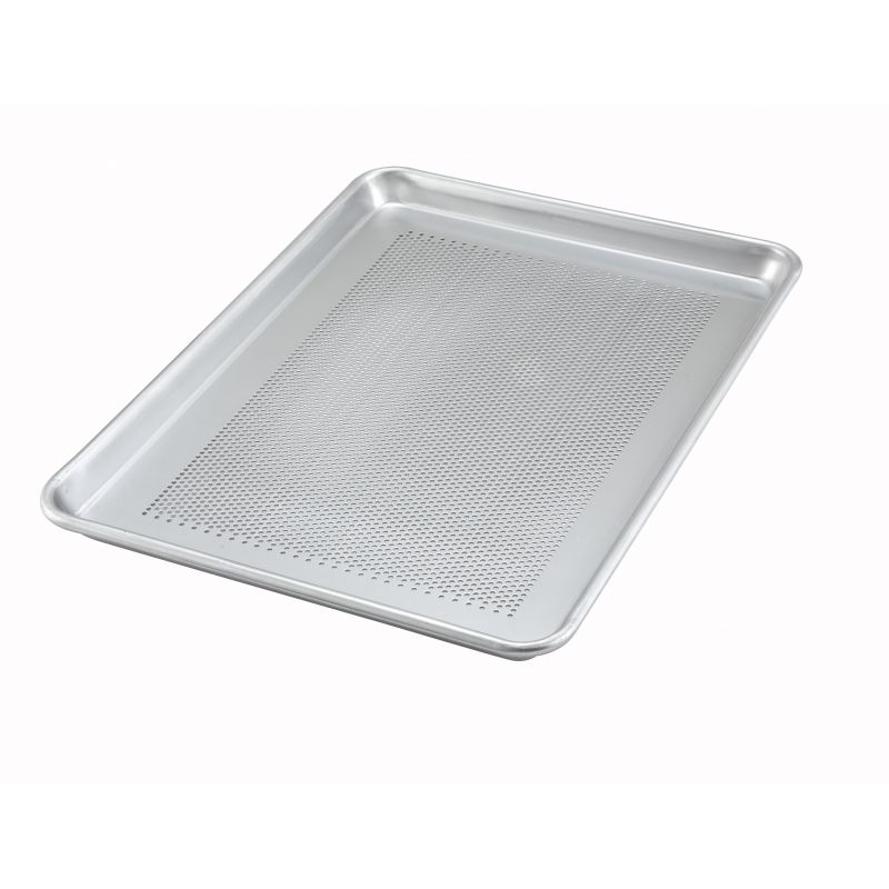 13 inches x 18 inches Alu Sheet Pan, Perforated, 18 Gauge