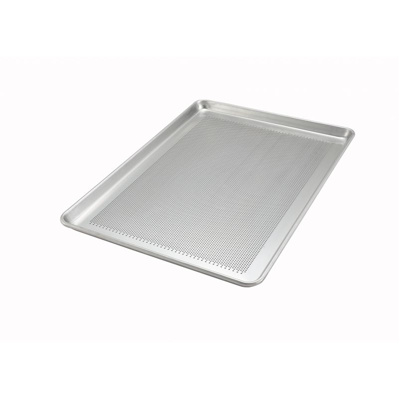 18 inches x 26 inches Alu Sheet Pan, Perforated, 18 Gauge