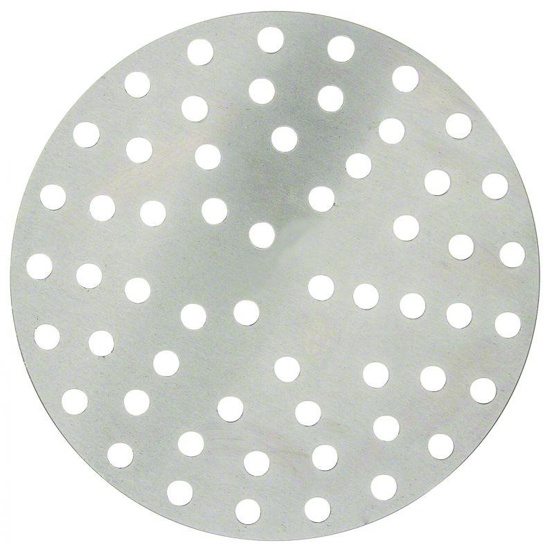 Aluminum Perforated Pizza Disk, 7 inches Diameter, 36 Holes