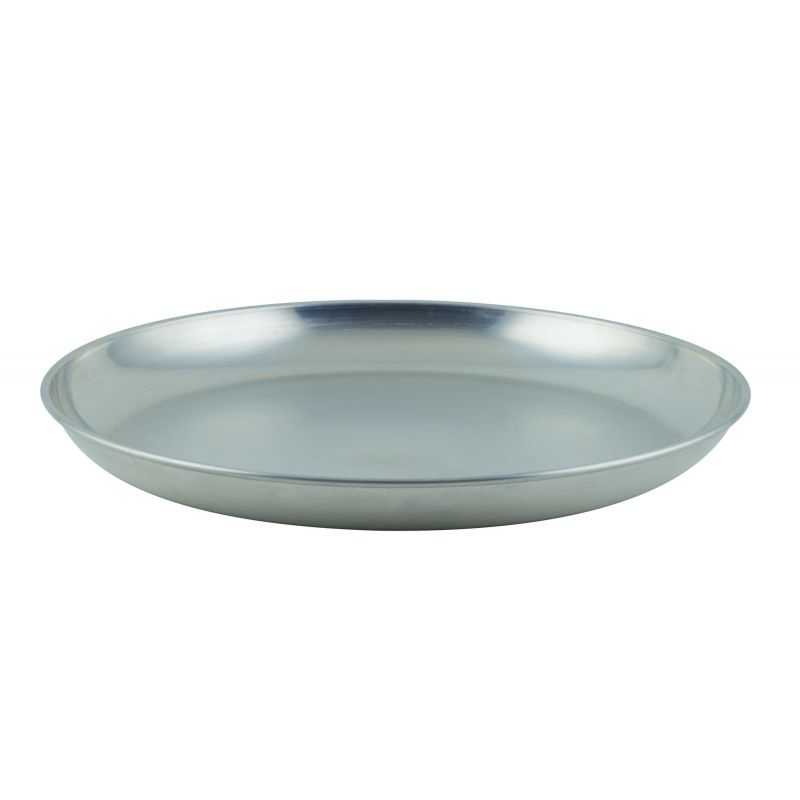 Aluminum Seafood Tray, 120 oz., 13-3/4 inches Dia. X 1-1/2 inches Depth