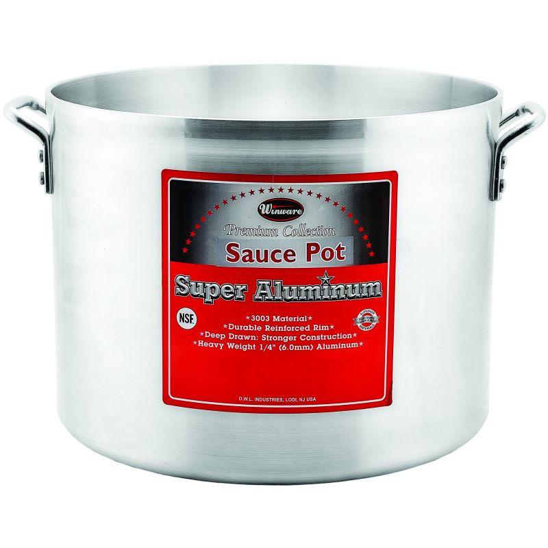 8qt Alu Sauce Pot, 6mm, Super Aluminum