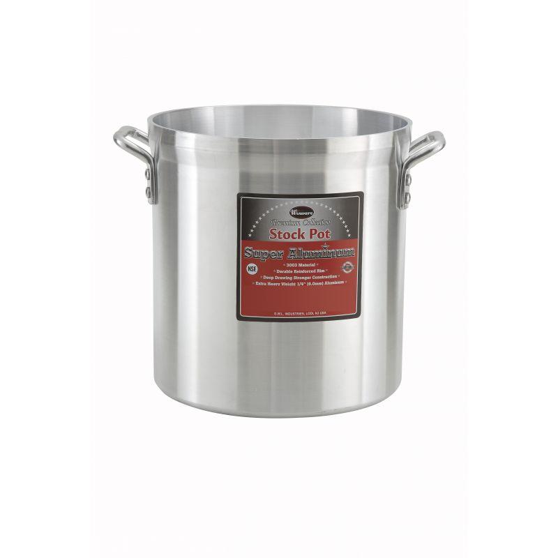 12qt Alu Stock Pot, 6mm, Super Aluminum
