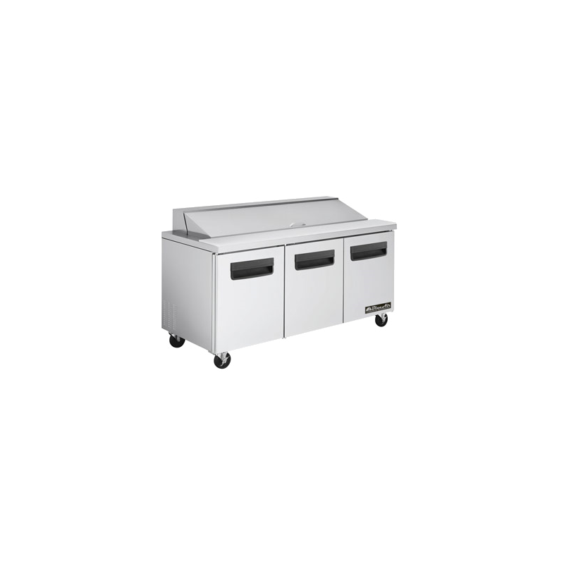 Sandwich/Salad Top Reach-In Refrigerator - three-section