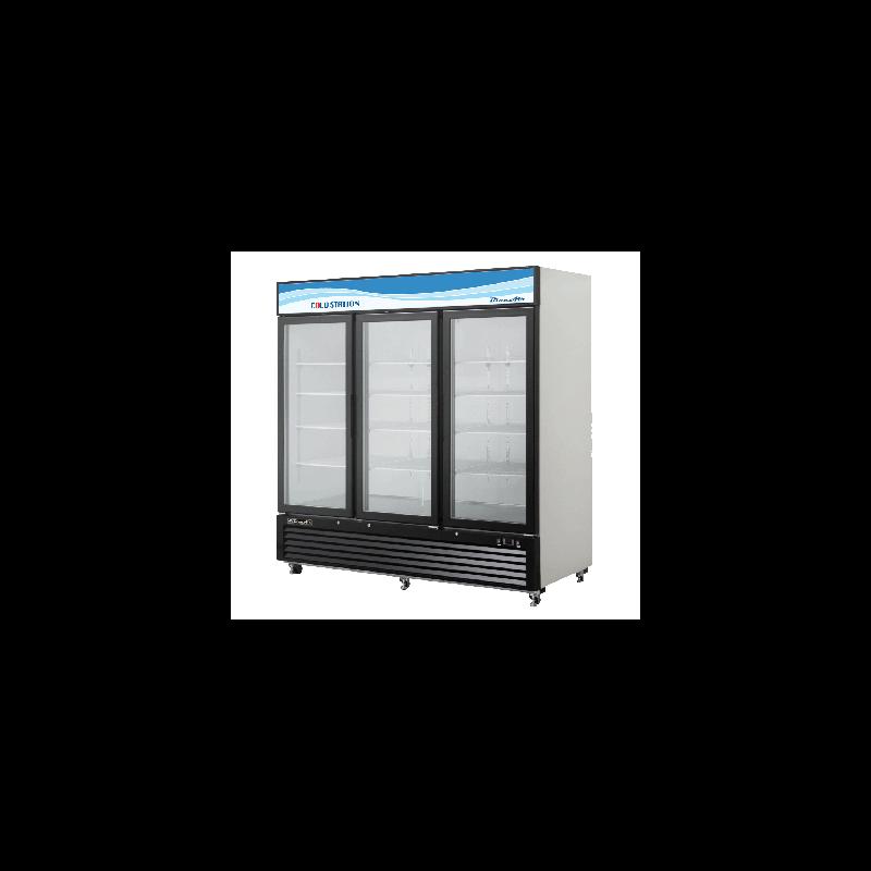 Refrigerated Merchandiser, three-section