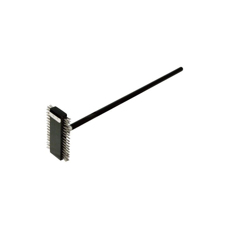 Pizza Oven Brush, S/S Bristles, 30 inches Hdl