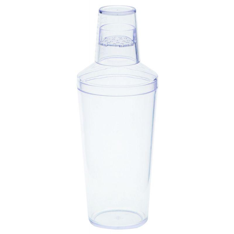 16Oz Clear Bar Shaker