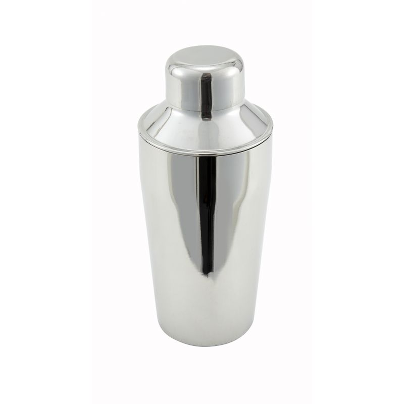 10oz Bar Shaker, 3-pc Set, S/S