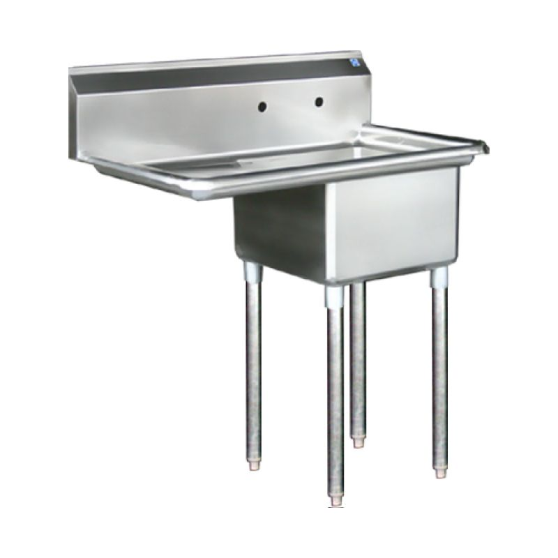 Blue Air Sink - one compartment 18 inches