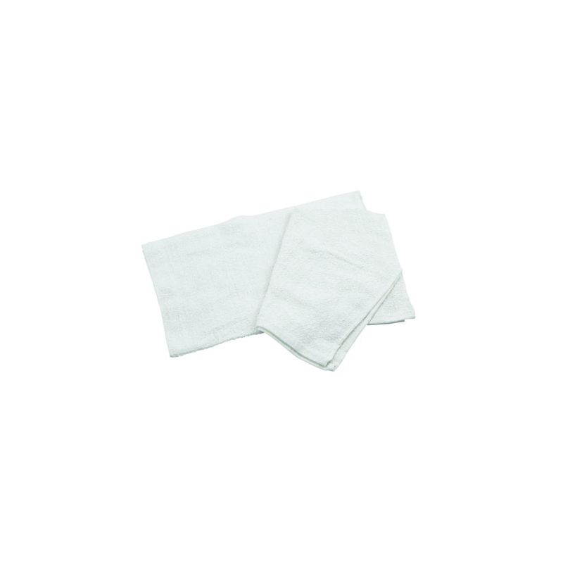 Cotton Bar Towel, 16 inches x 19 inches, White