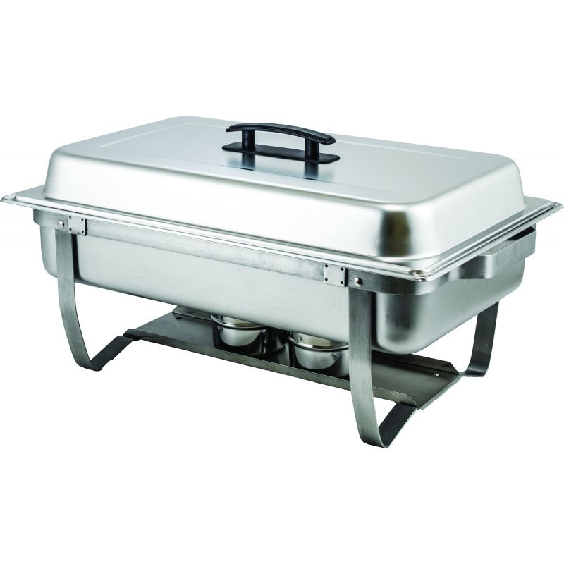 8qt Full-size Folding Stand Chafer, S/S