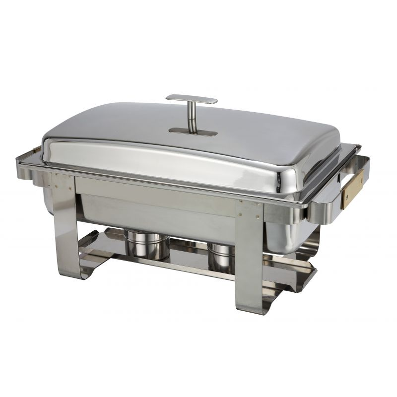 Dallas 8qt Chafer, Lift Off Cover, S/S, Heavyweight