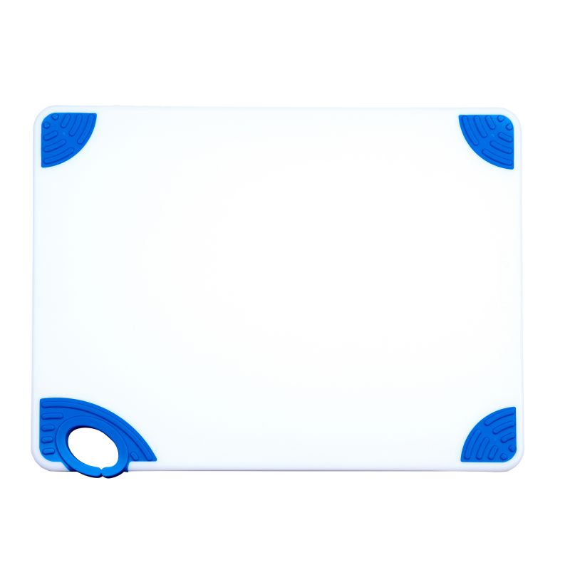 Cutting Board with Hook,15 inchesx20 inchesx1/2 inches,Blue