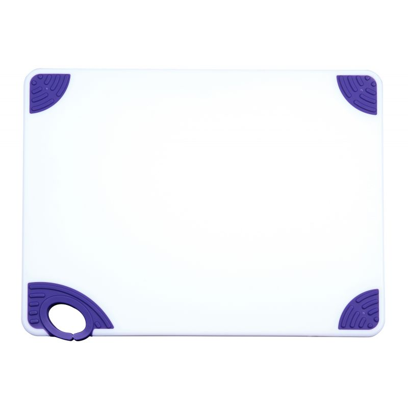 Cutting Board with Hook,15 inchesx20 inchesx1/2 inches,Purple
