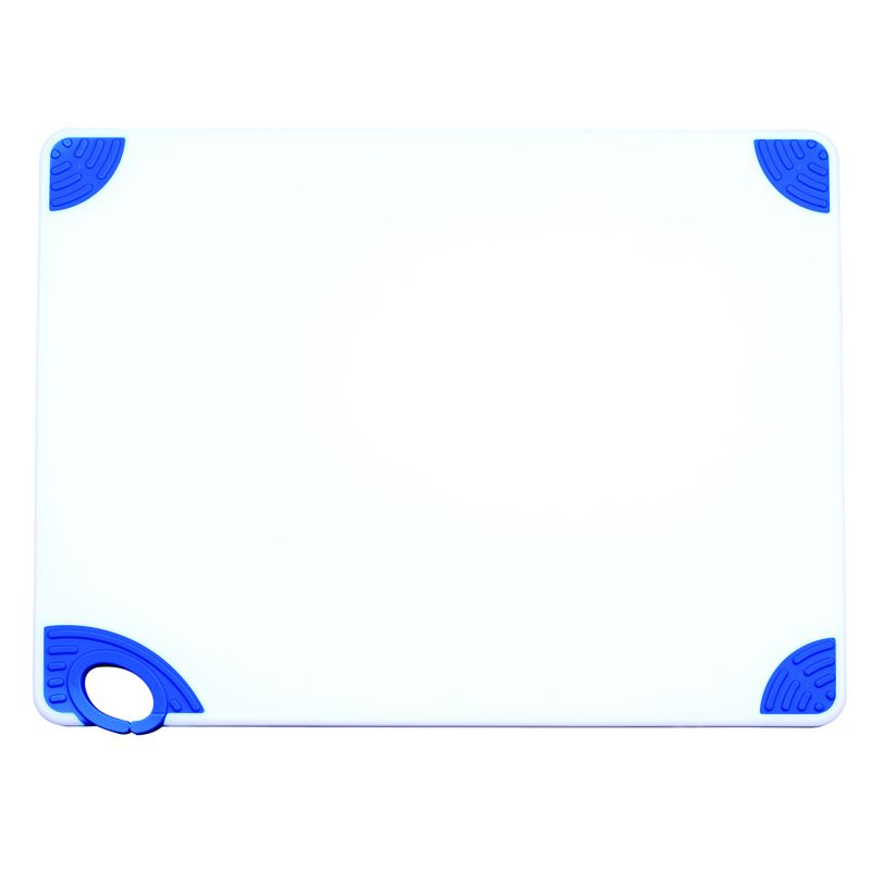 Cutting Board with Hook,18 inchesx24 inchesx1/2 inches,Blue
