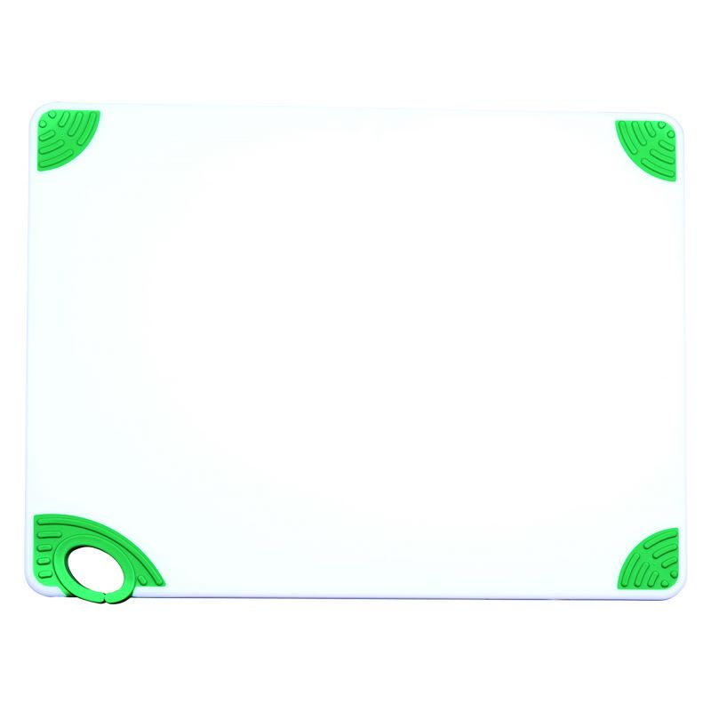 Cutting Board with Hook,18 inchesx24 inchesx1/2 inches,Green