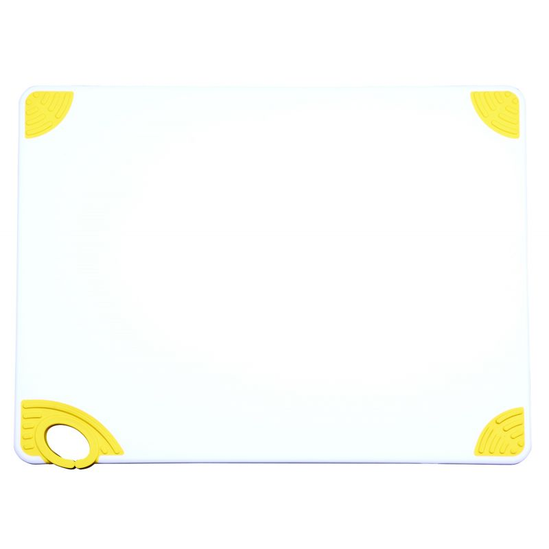 Cutting Board with Hook,18 inchesx24 inchesx1/2 inches,Yellow