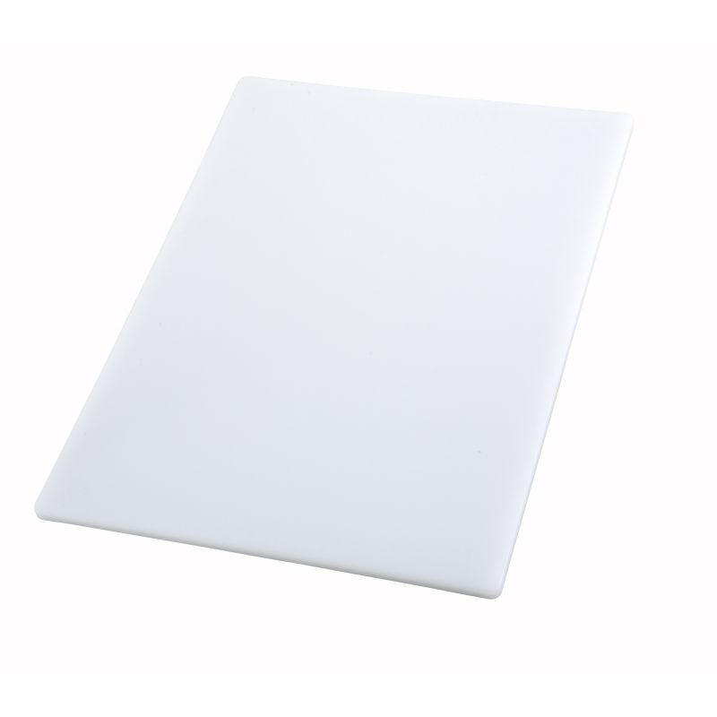 Cutting Board, 18 inches x 24 inches x 1/2 inches, White