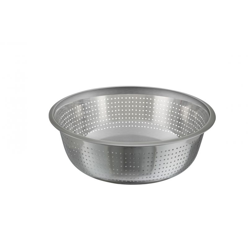 13 inches Colanders, Chinese Style, 2.5mm Holes, S/S