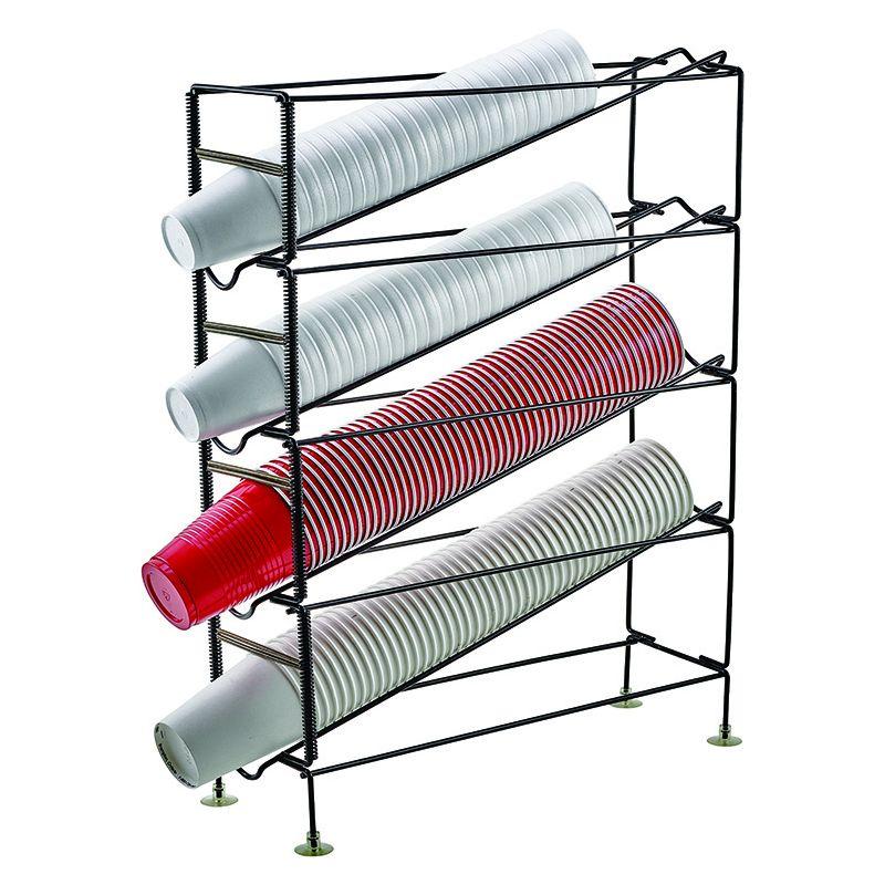 4-Tier Cup Dispensing Rack