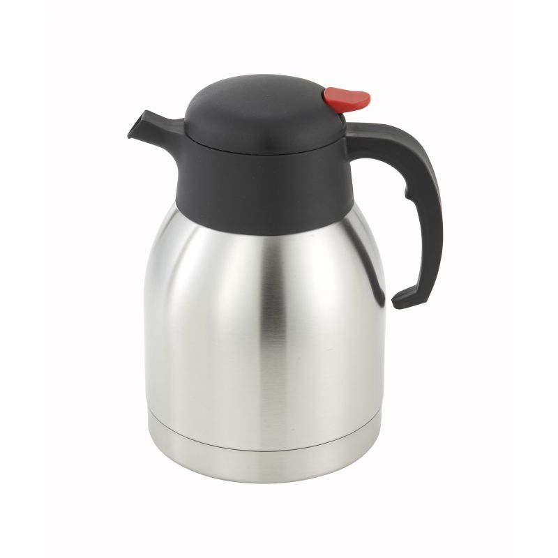 1.5L Carafe, Insulated, Push Button, S/S