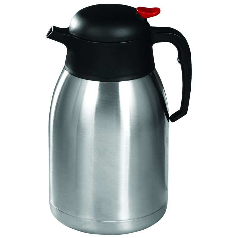 2L Carafe, Insulated, Push Button, S/S