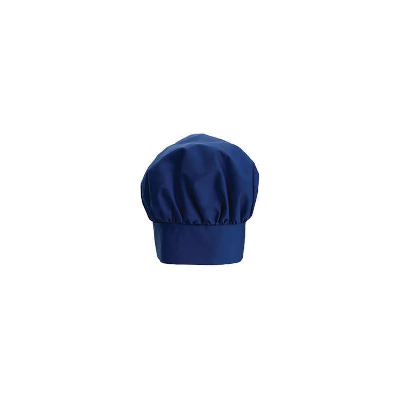 Chef Hat, 13 inches, Velcro Closure, Blue