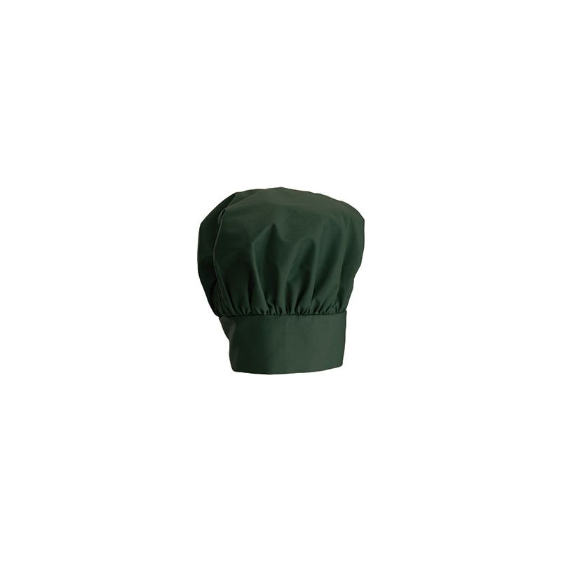 Chef Hat, 13 inches, Velcro Closure, Green