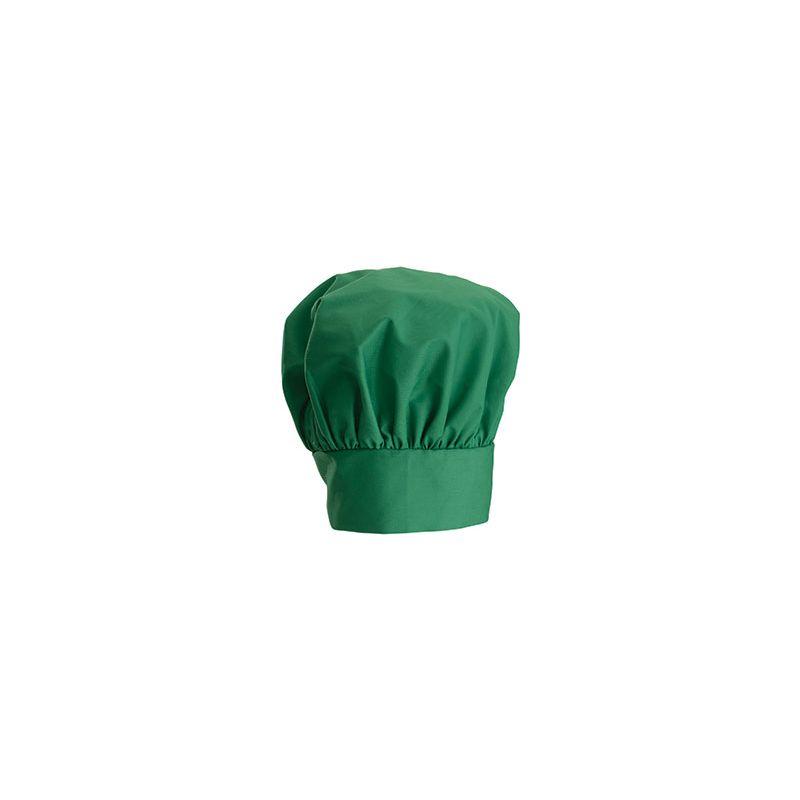 Chef Hat, 13 inches, Velcro Closure, Bright Green