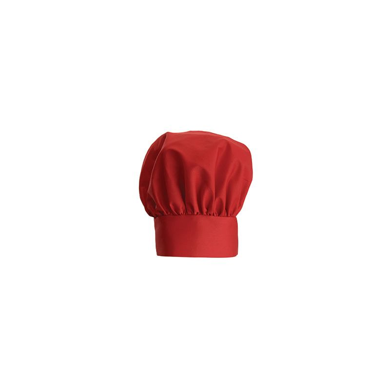 Chef Hat, 13 inches, Velcro Closure, Red