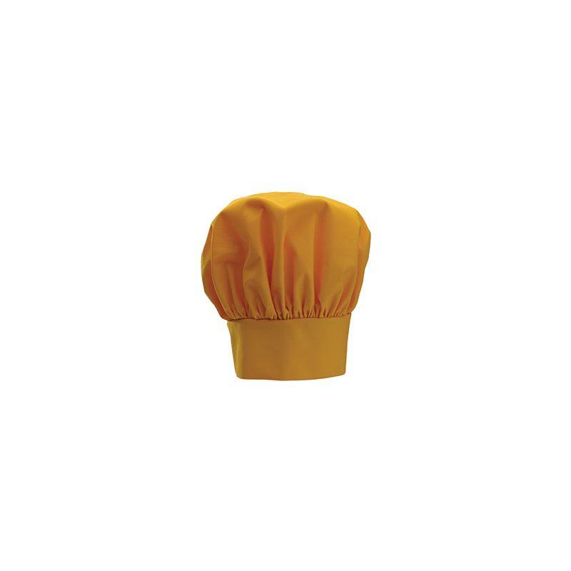 Chef Hat, 13 inches, Velcro Closure, Yellow