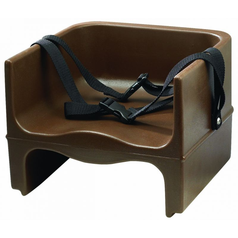 Booster Seat, Plastic, Double-sided, Brown