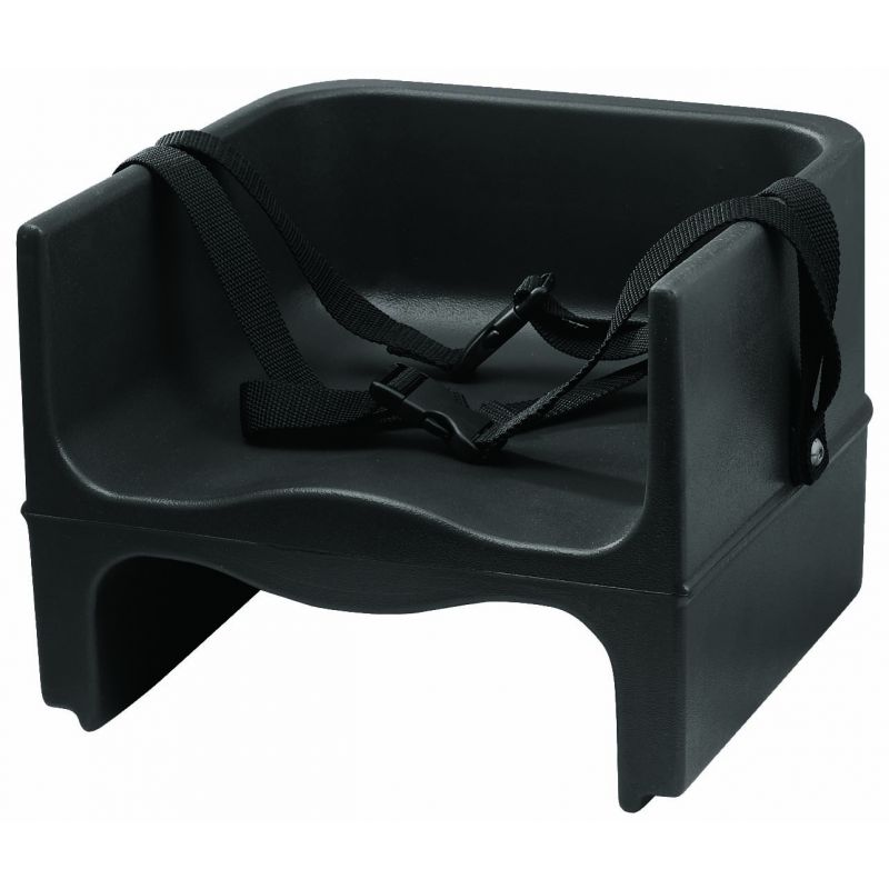 Booster Seat, Plastic, Double-sided, Black