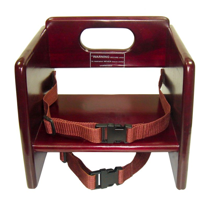Booster Seat, Wooden, Mahogany